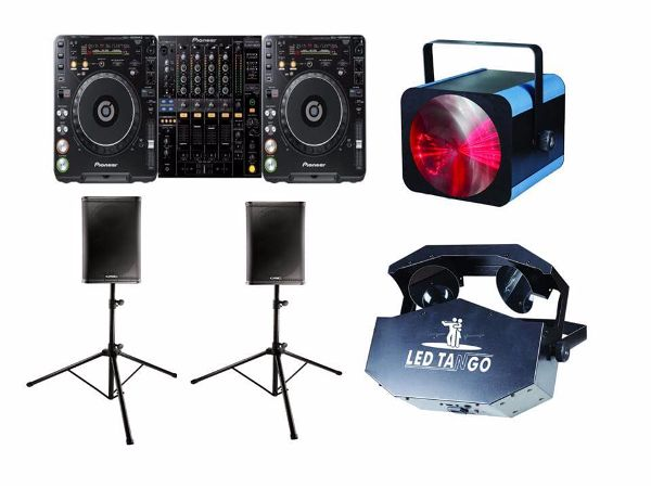 DJ Hire Package 1