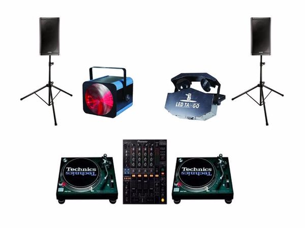 Old School DJ Hire Package 1