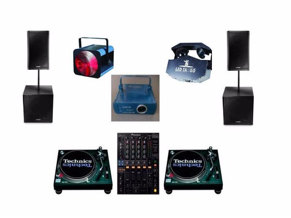 Old School DJ Hire Package 2