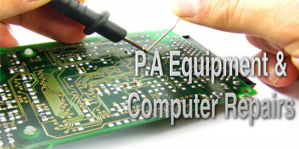 DJ and PA Equipment Repair Services in Surrey 1