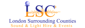 LSC Sound and Light Hire Surrey Logo