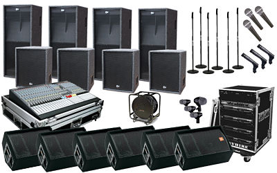 Sound System Rental with LSC 1