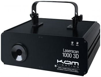 Kam Laserscan 1000 3d - LSC Sound and Light
