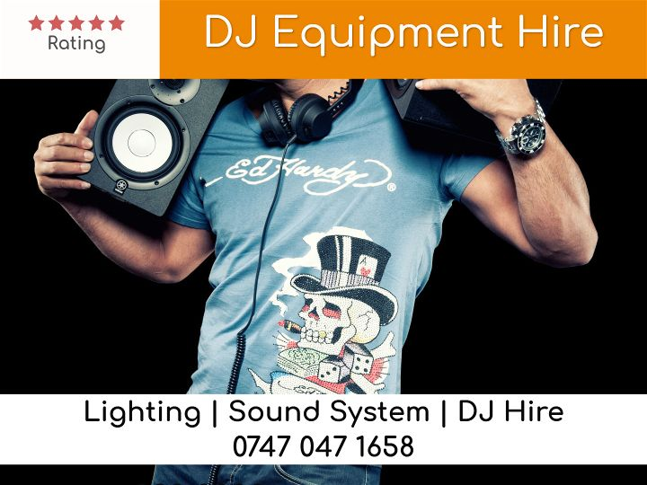 DJ equipment london - LSC Sound and Light Hire