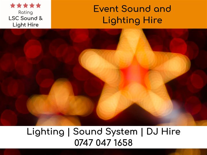 Event Sound and Lighting Hire - LSC Sound and Light Hire