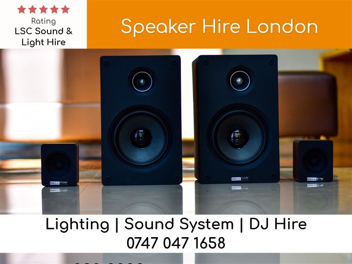 Speaker Hire London - LSC Sound and Light Hire
