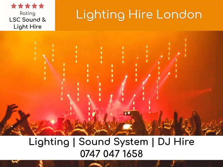 Uplighting Hire London - LSC Sound and Light Hire