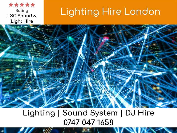 Uplighting Hire - LSC Sound and Light Hire