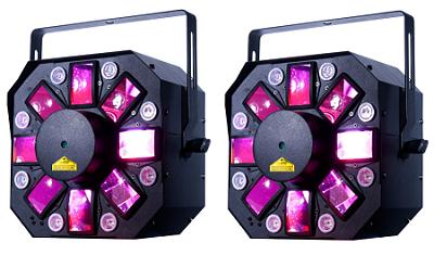 ADJ STINGER 2 3 IN 1 DISCO EFFECT LIGHT x 2
