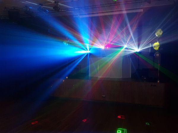 Disco Effect Lighting Hire LSC