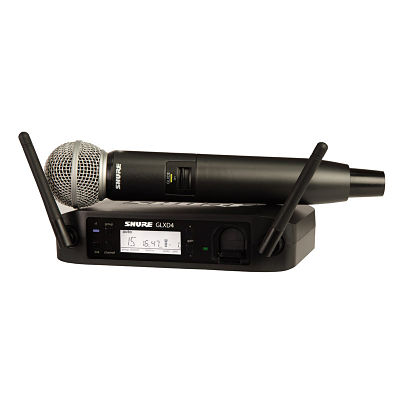 Shure SM58 Radio Mic - Event Hire Surrey
