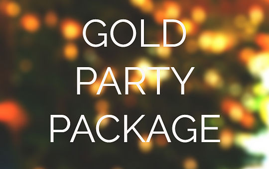GOLD PARTY PACKAGE LSC