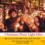 Christmas Party Lights Hire